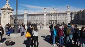 atração turística : The Royal Palace in Madrid called Palacio Real