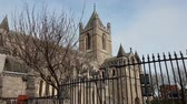 street photography : Christchurch Cathedral in Dublin - a famous landmark
