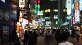 dramatic : Shibuya - a busy and popular district in Tokyo - TOKYO  JAPAN - JUNE 12, 2018 Stock Footage