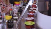авокадо : Running Sushi Bar - plates with freshly made sushi on boats