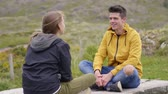 kerry : Young couple enjoys their trip to Ireland