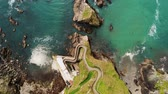 Beautiful landscape on Dingle Peninsula – Dunquin Pier from above