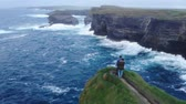 megye : Flight around the cliffs of the west coast of Ireland
