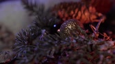 karácsony : Christmas background shot beautiful decoration
