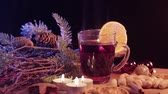 spiced : Hot and steaming mulled wine the perfect Christmas punch