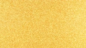 ティンセル : Golden Glitter Background in high resolution gold backdrop with reflections 動画素材