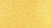 cicili bicili : Golden Glitter Background in high resolution gold backdrop with reflections Stok Video