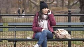 Нью Йорк : Wonderful time at Central Park New York on a winters day