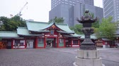 buddhismus : Famous Hie - Shrine in Tokyo in the evening