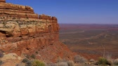 desert southwest : Breathtaking scenery at Canyonlands National Park Stock Footage