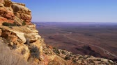 tafelberg : Breathtaking scenery at Canyonlands National Park Stock Footage