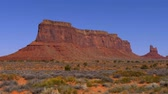 estouro : Monument Valley in Utah Oljato Stock Footage