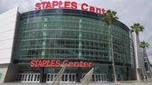 Staples Center Arena at Los Angeles Downtown - CALIFORNIA, USA - MARCH 18, 2019