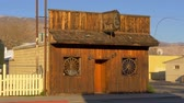 Wild West Bar in the historic village of Lone Pine - LONE PINE CA, USA - MARCH 29, 2019