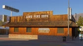 kings canyon : Wooden Drug store in the historic village of Lone Pine - LONE PINE CA, USA - MARCH 29, 2019