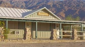 badlands : Panamints Motel at Death Valley - BEATTY, USA - MARCH 29, 2019
