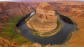 見落とす : Horseshoe Bend in Arizona