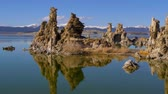 bizarro : Amazing columns of limestone at Mono Lake in Mono County