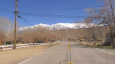 mayın : Street view in Benton - a historic small town in the Eastern Sierra