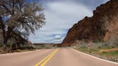 eroze : Drive through Snow Canyon in Utah