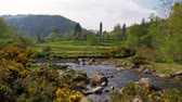 Írország : Beautiful landscape of Glendalough in the Wicklow Mountains of Ireland