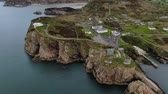 kafa : Aerial view over Fort Dunree in Ireland