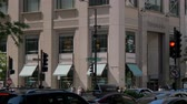 michigan : Tiffany store in Chicago Michigan Avenue - CHICAGO, UNITED STATES - JUNE 11, 2019 Stock Footage