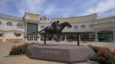 utazási célpontok : Churchill Downs Horse race track and Kentucky Derby museum in Louisville - LOUISVILLE, USA - JUNE 14, 2019