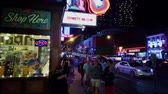 Nashville Broadway is a busy place in the city - NASHVILLE, USA - JUNE 16, 2019