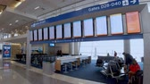 テキサス州 : Departure Gates at Dallas Fort Worth Airport - DALLAS, USA - JUNE 20, 2019