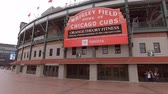 sjednocený : Wrigley Field in Chicago - home of the Chicago Cubs - CHICAGO, USA - JUNE 12, 2019 Dostupné videozáznamy