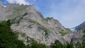 festői : The huge mountains of the Swiss Alps - great nature of Switzerland
