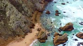 horizont nad vodou : Beautiful Ursa Beach from above is like paradise