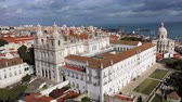 lisszabon : Church of Sao Vicente of Fora in Lisbon Alfama