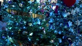 londres : blue Christmas decoration at Covent Garden in London Archivo de Video