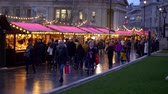 britannia : Christmas markets at National Gallery London - LONDON, ENGLAND - DECEMBER 10, 2019