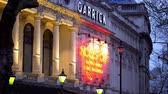 언어 : Garrick Theatre in London West End - LONDON, ENGLAND - DECEMBER 10, 2019