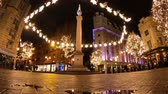 londen : Seven Dials London - night Timelapse