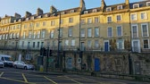uchovaný : Typical townhouses in Bath England - BATH, ENGLAND - DECEMBER 30, 2019
