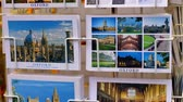 nazik : Postcards of Oxford in a souvenir shop - OXFORD, ENGLAND - JANUARY 3, 2020
