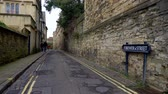nazik : Brewer Street in Oxford England - OXFORD, ENGLAND - JANUARY 3, 2020