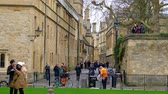 theems : Bodleian Library in Oxford England - OXFORD, ENGLAND - JANUARY 3, 2020