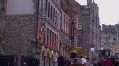 The Scotch Whisky Experience at Castlehill in Edinburgh - EDINBURGH, SCOTLAND - JANUARY 10, 2020 動画素材
