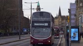 Cityscapes of Edinburgh Scotland - EDINBURGH, SCOTLAND - JANUARY 10, 2020 動画素材