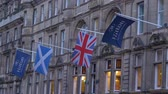 Hilton Hotel Edinburgh Old Town - EDINBURGH, SCOTLAND - JANUARY 10, 2020 動画素材