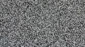 picture : TV screen no signal, static noise and TV static fill the screen (Loop). HD Stock Footage
