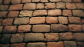 булыжник : cobbles on the pavement in the old town