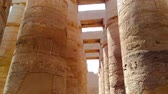 Ruins of the beautiful ancient temple of Karnak in Luxor
