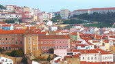 Ancient architecture of Lisbon, Portugal, cityscape, city views.