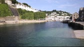 t��o : Looe river Cornwall England fishing port and harbour in this beautiful Cornish town on a sunny day